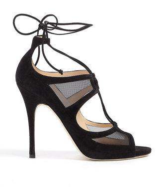 Olga Duccio Venturi Cut-out Lace Up Sandals