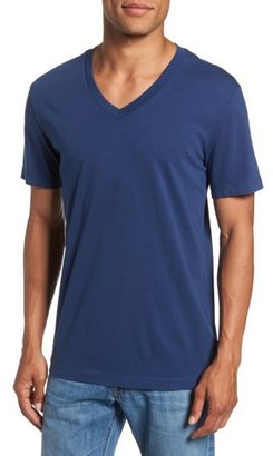 Men's James Perse Short Sleeve V-Neck T-Shirt $60 thestylecure.com