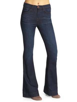 J Brand High Rise Skinny Flare Jeans
