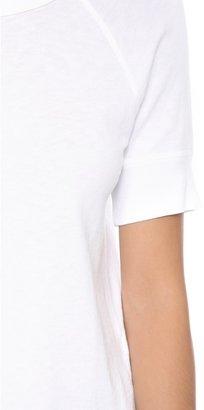 James Perse Short Sleeve Vintage Pullover