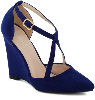 Executive Outing Heel in Sapphire