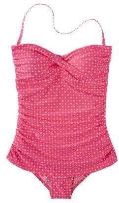 Clean Water Women's Polka Dot 1-Piece Swim Dress -Assorted Colors