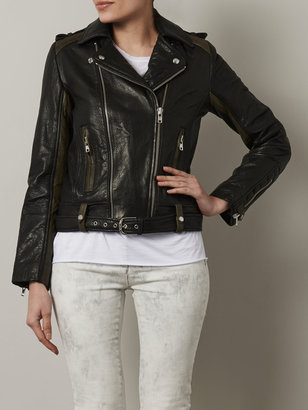 IRO Sallie leather biker jacket