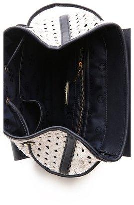 Tory Burch Robinson Basket Weave Backpack