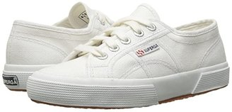 Superga 2750 JCOT Classic (Toddler/Little Kid) (White) Kids Shoes