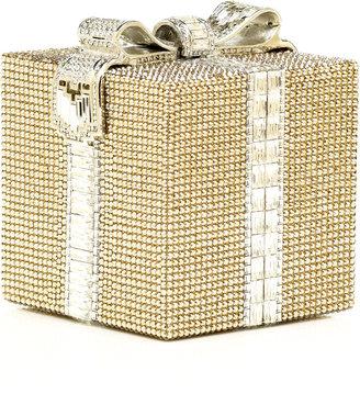 Judith Leiber Gift Wrap Minaudiére