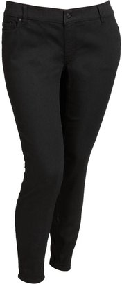 Old Navy Women's Plus The Rockstar Black Super Skinny Jeans