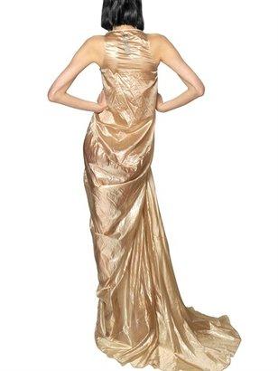 Rick Owens Techno Silk Cellophane Long Dress