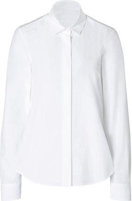 Jil Sander Cotton Pipsi Blouse in White