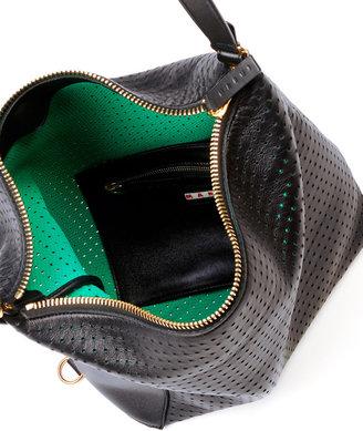 Marni Perforated Convertible Backpack, Black