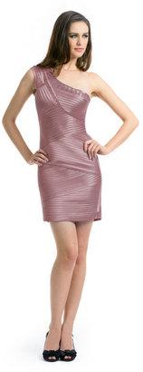 BCBGMAXAZRIA Eden Ribbon Dress