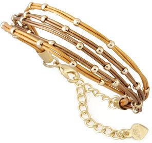 Nakamol Multi-Strand Ball Bead Bracelet, Bronze