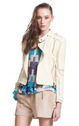Tracy Reese Moto Jacket