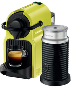 Nespresso by Breville BEC200XL Inissia Capsule Coffee Maker: Lime