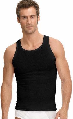 af727e53 Jockey Men Underwear, Classic Ribbed Tagless Tank 3 Pack