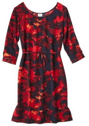 Merona Women's Shift Dress -Floral Print