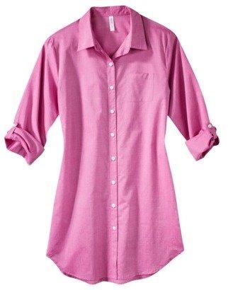 Gilligan & O'Malley® Women's Buttoned Sleepshirt - Assorted Colors