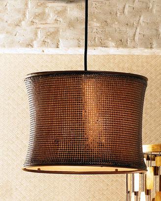 Copper Mosaic Chandelier