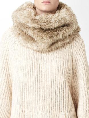 Calvin Klein Faux Fur Snood