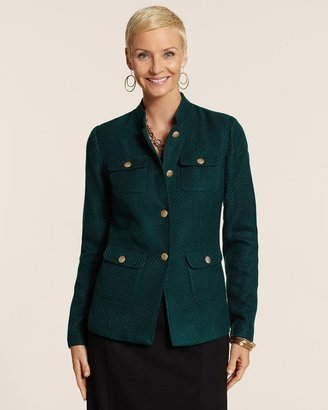 Chico's Casual Military Jacket