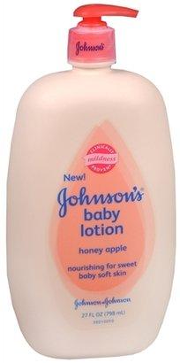 Johnson's Baby Lotion Pump Honey Apple