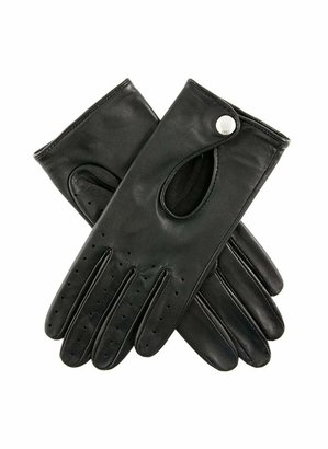 Dents Thruxton Women's Leather Driving Gloves BLACK 6.5