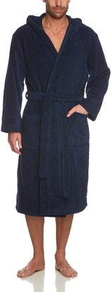 Schiesser Men'S Bathrobe - Blue - Blau (815-Navy) - 50 (Eu) (Brand Size: M)