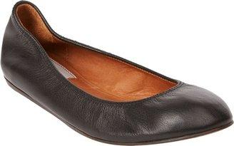 Lanvin Women's Leather Ballet Flats-Black