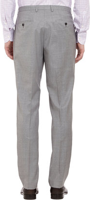 HUGO BOSS Worsted Two-Button Suit
