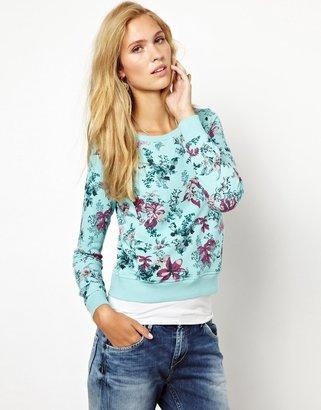 Pepe Jeans London Floral Sweatshirt