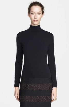 Women's St. John Collection 'Nuda' Fine Jersey Turtleneck Shell $195 thestylecure.com