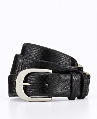 Ann Taylor Double Keeper Exotic Leather Belt