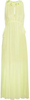 Carven Crepe maxi dress
