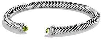 David Yurman Cable Classics Bracelet with Gemstone Diamonds/5mm
