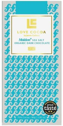 Love Cocoa Maldon Sea Salt Dark Chocolate Bar 80G
