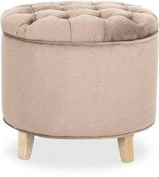 Darien Fabric Tufted Storage Ottoman, Direct Ships for just $9.95