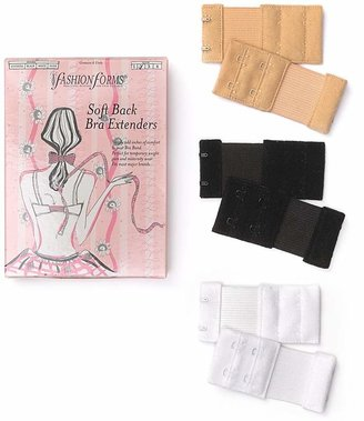 Fashion Forms 2-Hook Soft Back Bra Extenders, Set of 6 $8 thestylecure.com