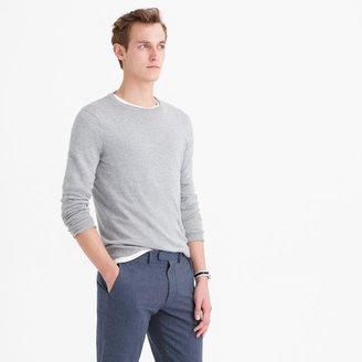 Slim cotton-cashmere crewneck sweater $64.50 thestylecure.com