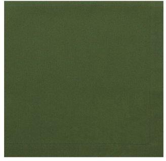 Crate & Barrel Cotton Green Napkin