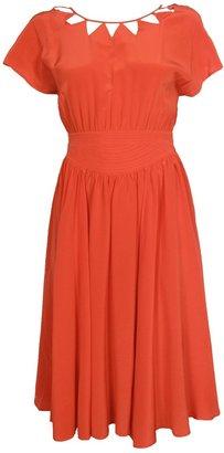 Vena Cava Colima Triangle Cut-out Dress