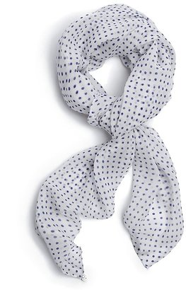 GUESS Stella Spotted Square Scarf