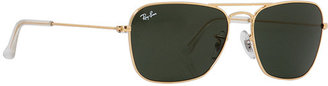 Ray-Ban RB3136 Caravan Sunglasses $150 thestylecure.com