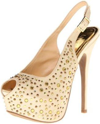 Liliana Women's Phoebe-27 Platform Sandal