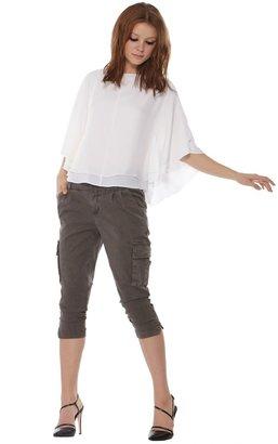 Alice + Olivia Hampton Dolman Sleeve Top