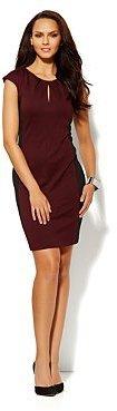 New York & Co. Colorblock Ponte Sheath Dress