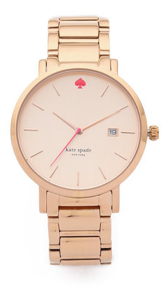 Kate Spade New York Gramercy Grand Watch $225 thestylecure.com