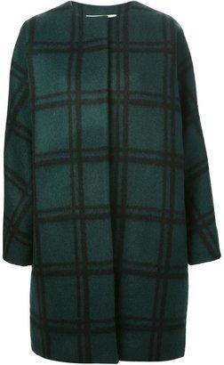 Marni oversized checked coat