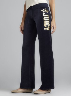 Juicy Couture Juicy Foil Plush Drawstring Pant
