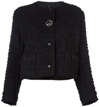 Lanvin Embellished boucle jacket