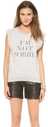 Pam & Gela Not Sorry Sweatshirt